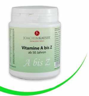 Vitamine A bis Z ( 50 anni in su )